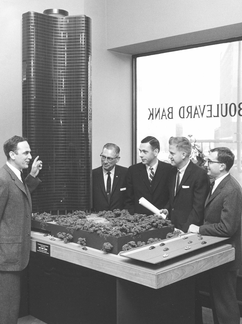 Lake Point Tower History